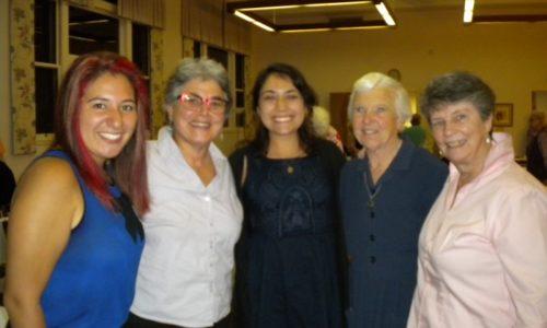 SanFran_Mercy Day._ Bianca, Carmen (Bianca's Supervisor), Lauren, Sr. Marian Rose, And Sr. Judy