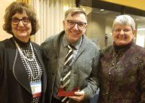 MVC JohnMcLoughlin Award MarianUba EileenCampbell