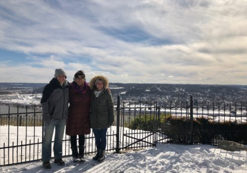 Cincinnati Snow Cityview Lookout Community